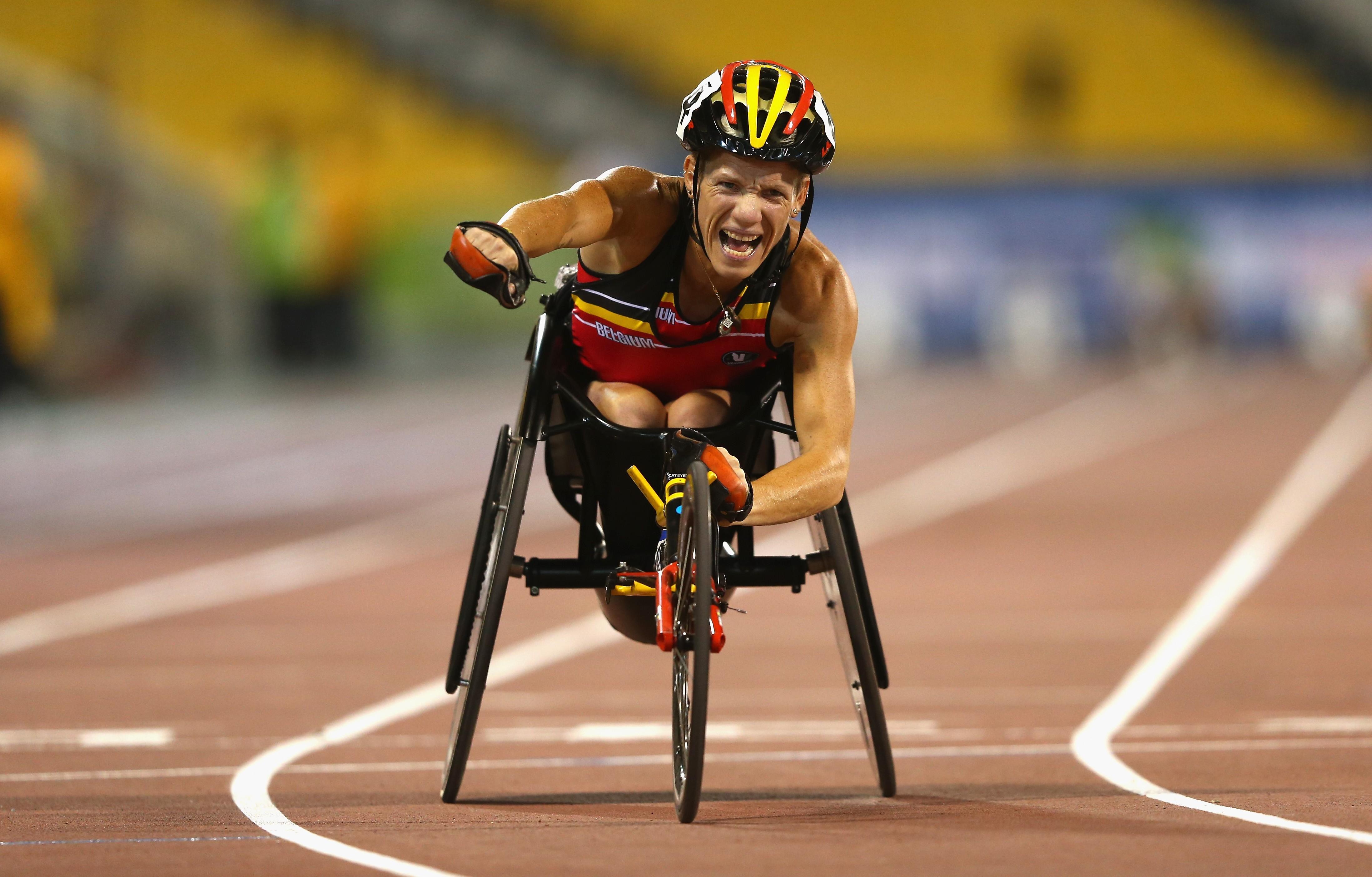 Marieke Vervoort, que já faturou uma prata no Rio (Foto: Francois Nel/Getty Images)