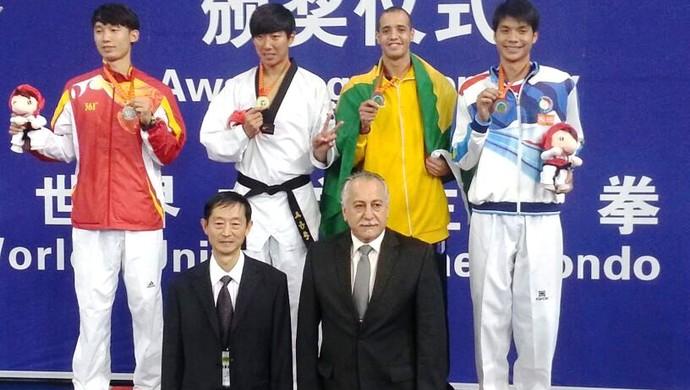 Lutador de taekwondo de Uberlândia Lucas Ferreira  (Foto: Lucas Ferreira / Arquivo pessoal )