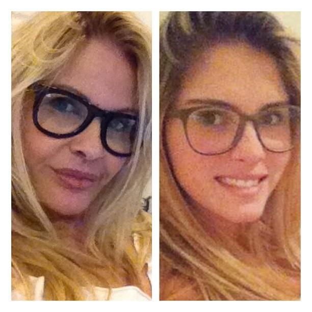 Monique Evans e Bárbara Evans (Foto: Reprodução Instagram)