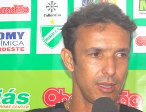 Técnico Bilu do Murici, Corinthians-AL 2x1 Murici (Foto: Paulo Victor Malta / Globoesporte.com)