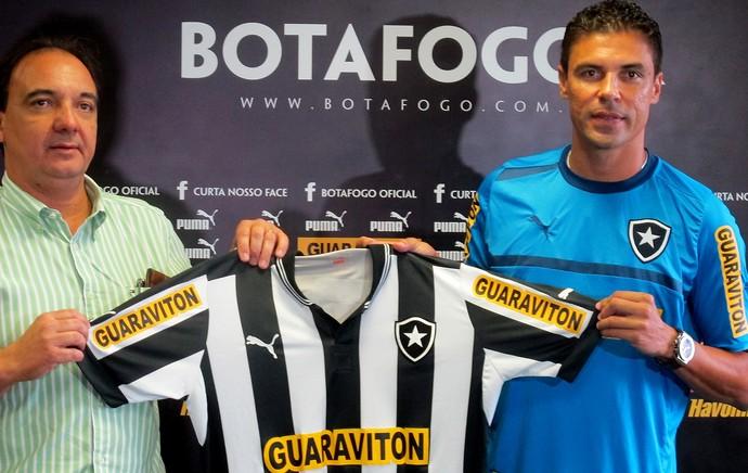 chico fonseca bolivar botafogo apresentação (Foto: Thales Soares / Globoesporte.com)