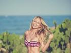 Jessica Gunther, namorada de Olin Batista, mostra curvas na web