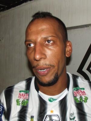 Thiago Chulapa, atacante do Treze (Foto: Silas Batista / Globoesporte.com/pb)
