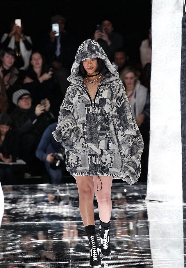 Rihanna: agora em Paris (Foto: Getty Images)