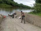 Polícia apreende mais de 700 m de redes no Rio Iguaçu, no Paraná