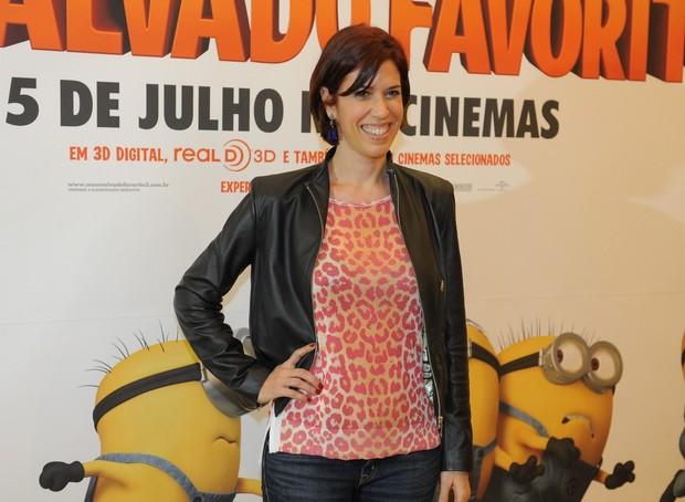 Maria Clara Gueiros na animação 'Meu Malvado Favorito 2' (Foto: Francisco Cepeda/AgNews-SP)
