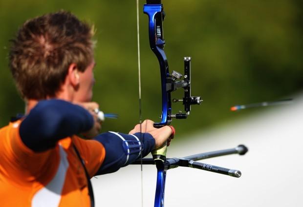 Teste antes dos Jogos Olímpicos em Londres (Foto: Getty Images)