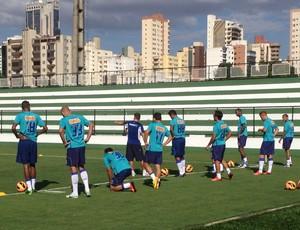 Cruzeiro treino em Goiânia (Foto: Marco Antônio Astoni)