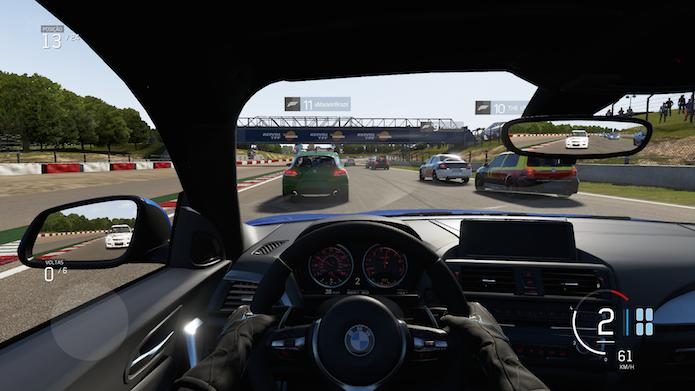 Forza 6 tem gráficos incrivelmente realistas (Foto: Reprodução/Victor Teixeira)