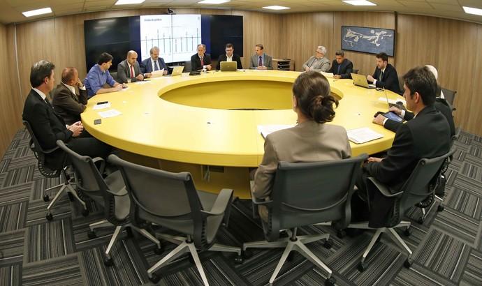Reunião na CBF sobre jogos às 11h (Foto: Rafael Ribeiro/CBF)
