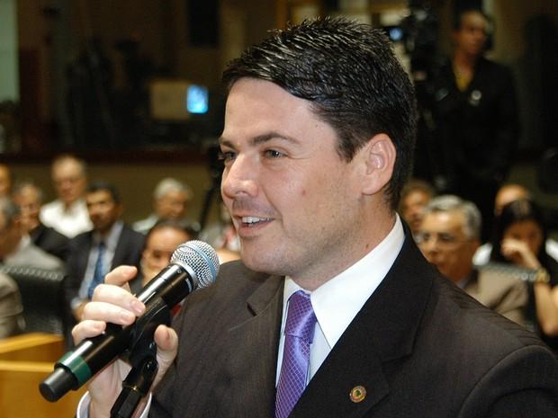 Morre no hospital  o deputado do Espírito Santo  Glauber Coelho  (Foto: Vitor Jubini/Jornal A Gazeta)