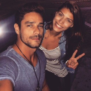 Diego Grossi e Franciele Almeida (Foto: Reprodução/Instagram)