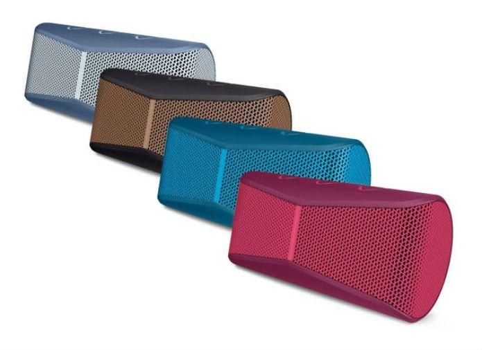 Os alto-falantes wireless foram desenvolvidos com nova tecnologia acústica (Foto: Reprodução/Logitech)