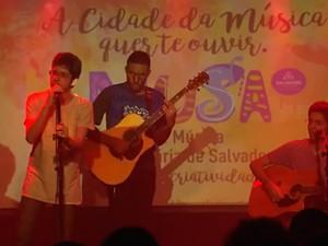 Festival de Música seleciona semifinalistas (Foto: Reprodução/TV Bahia)