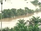 Rio Cricaré sobe cinco metros e 32 famílias ficam desabrigadas, no ES