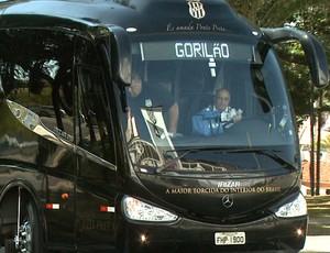 Gorilão, ônibus da Ponte (Foto: Carlos Velardi/ EPTV)