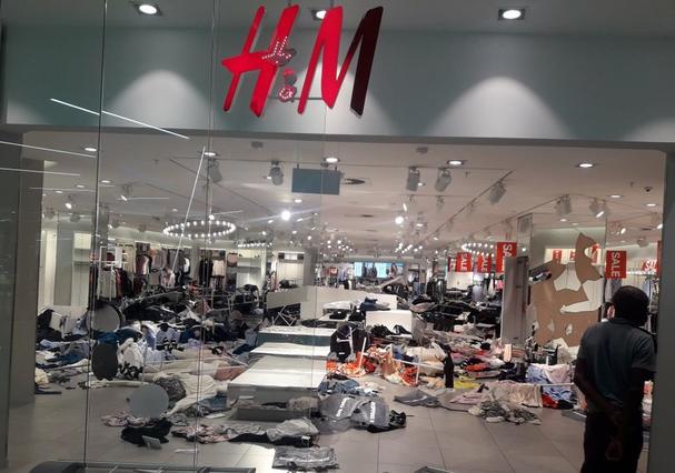 H&M - África do Sul (Foto: Reprodução)