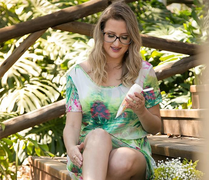 A blogueira Kerlly Costa (Foto: Divulgação)