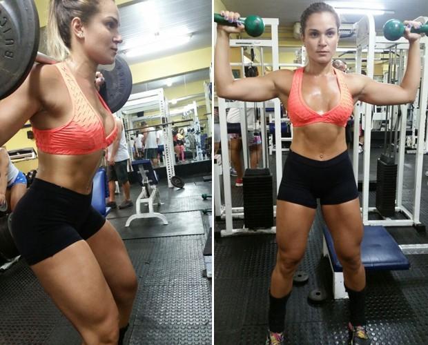 Bianca Salgueiro dá dica de suco detox (Foto: Arquivo Pessoal)