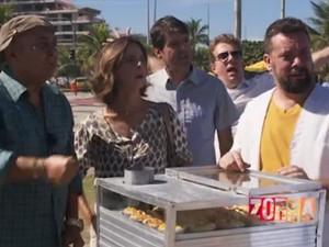 Zorra rei da empada (Foto: TV Globo)