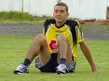 Piá, ex-meia Ponte, Corinthians, Santos (Foto: Reprodução EPTV)