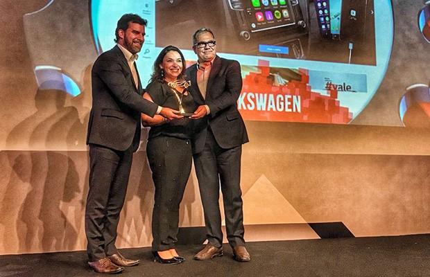 Volkswagen ganha o prêmio de Marca Digital do Ano 2018 (Foto: Autoesporte)