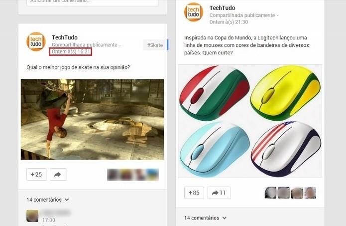 Ver o horário exato de uma postagem pode fazer a diferença (Foto:  Reprodução/Paulo Figueiredo)
