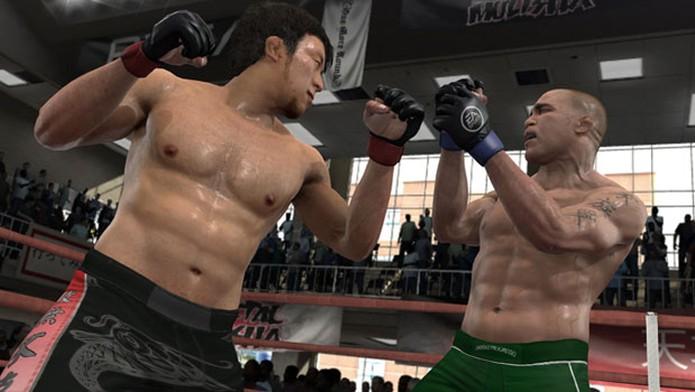 EA Sports MMA foi banido por causa das propagandas presentes no game (Foto: Divulgação/EA)