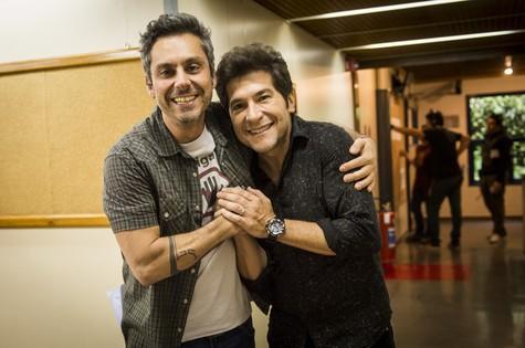 Alexandre Nero e Daniel  (Foto: João Miguel Júnior/ TV Globo)