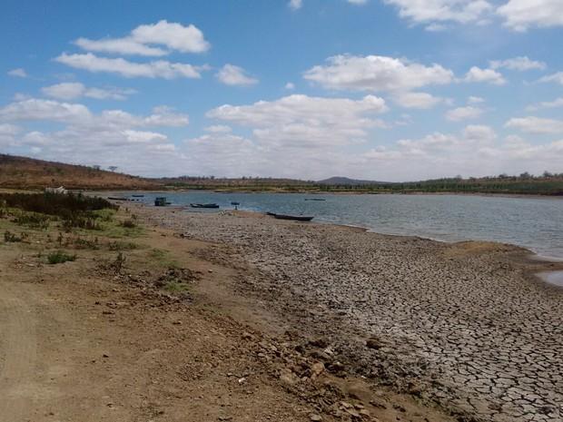 Barragem de Bitury entrou em colapso e está com 1,95% da capacidade total (Foto: Divulgação/Assessoria Compesa)
