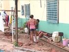 Ventania destelha casas e quebra janelas de residencial na Bahia
