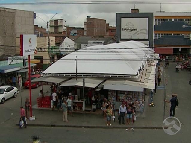 Camelódromo de Caruaru após manutenção (Foto: Reprodução / TV Asa Branca)