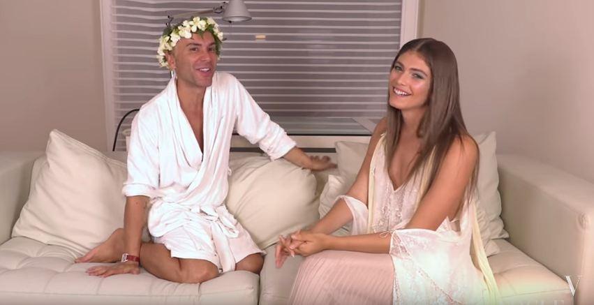 Valentina Sampaio no Mister V (Foto: Reprodução)