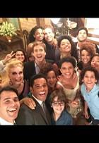 Marcello Melo Jr mostra elenco de 'Babilônia' em clima de despedida