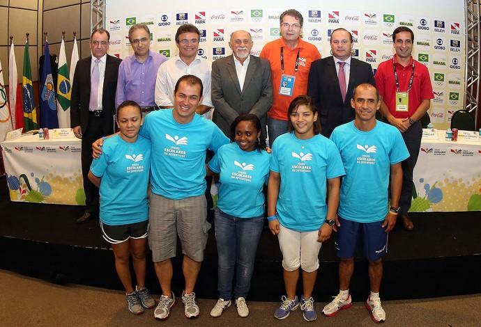 Embaixadores Jogos da Juventude (Foto: Wander Oliveira)