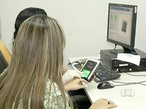 37 mil eleitores não poderão participar das eleições por não terem realizado o cadastro biométrico (Foto: Reprodução/TV Anhanguera)