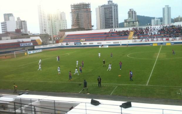 Marcílio Dias, Santo André, série d 2013, estádio hercíio luz,  (Foto: Marcelo Silva)