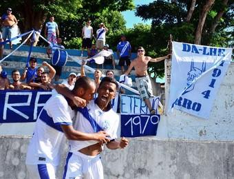 Marcos Nunes, atacante do Taubaté x Santacruzense (Foto: Bruno Castilho/ Divulgação)