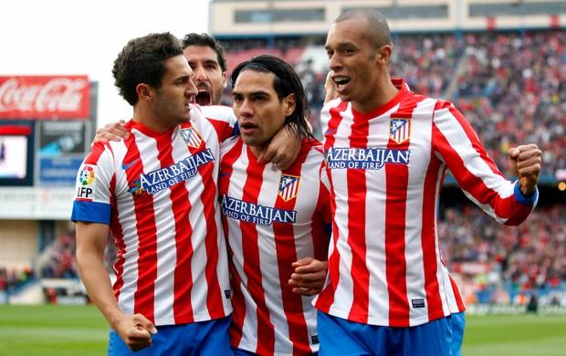 Falcao García Miranda Atlético de Madri (Foto: Reuters)