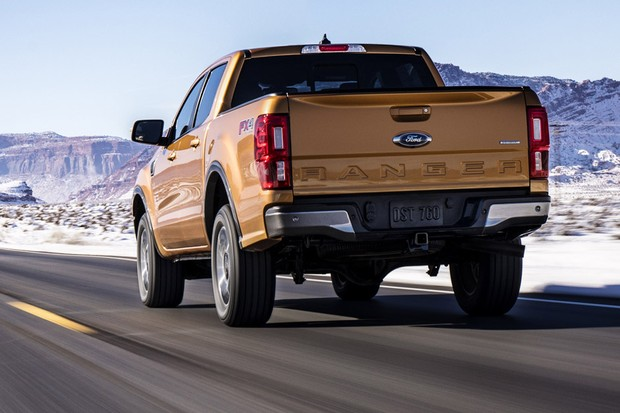 The all-new 2019 Ford Ranger for North America brings midsize truck fans a new choice from America's truck sales leader – one that's engineered Built Ford Tough and packed with driver-assist technologies to make driving easier whether on- or off-road.  (Foto: Divulgação)