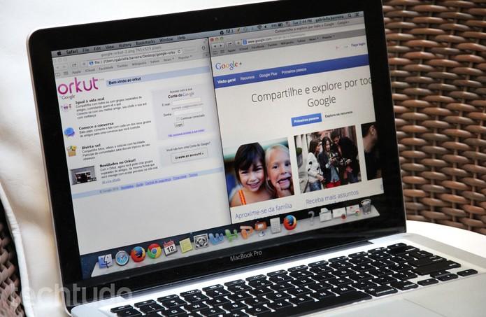 Orkut x Google+ (Foto: Barbara Mannara/TechTudo)