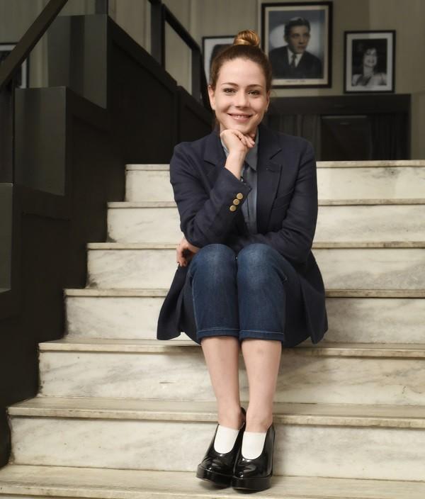 A atriz e mais nova cineasta (Foto: Camila Marchon/ Época)