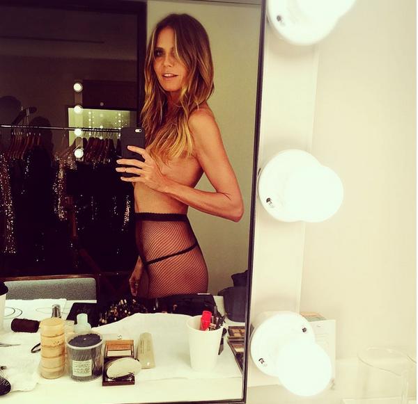 A modelo Heidi Klum (Foto: Instagram)