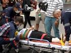 Funcionária ferida em explosão de restaurante tem alta em Juiz de Fora
