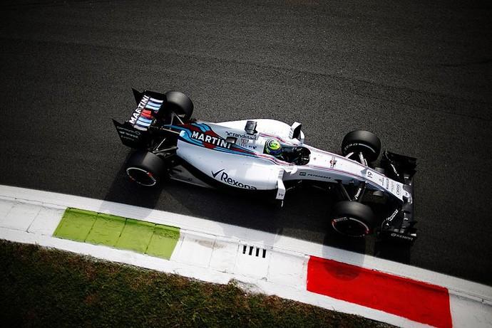 Felipe Massa em ação nos treinos livres para o GP da Itália (Foto: Divulgação)