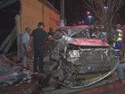 Suspeito morre ao tentar fugir de cerco policial e capotar carro em SP