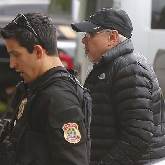 Guido Mantega, preso pela PF (Foto: MARCOS BEZERRA/FUTURA PRESS/ESTADÃO CONTEÚD)