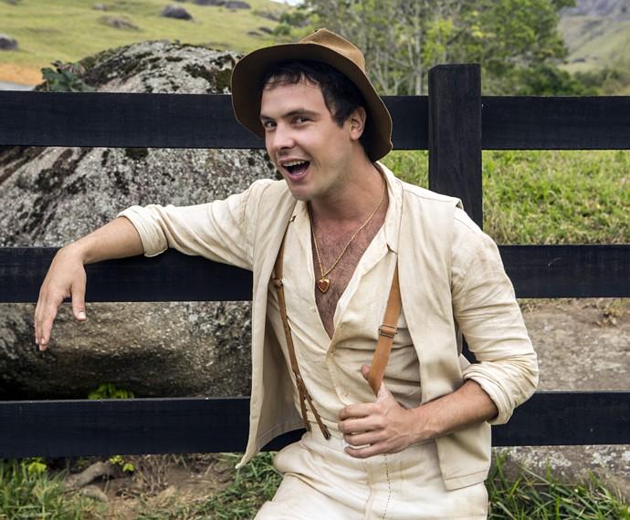 Sergio Guizé encarna o protagonista Candinho (Foto: Inácio Moraes/Gshow)