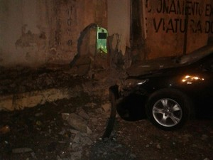 Nova tentativa de explosão no Curado (Foto: Divulgação/Whatsapp)