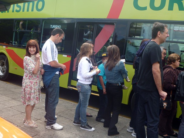 Regina Vogue ônibus turismo (Foto: Arquivo pessoal)